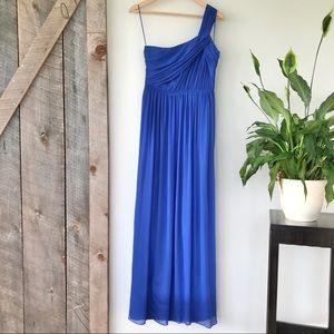 J. Crew silk maxi dress